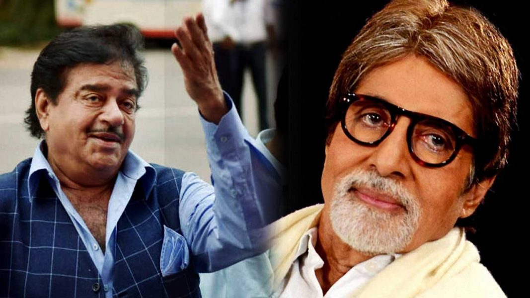 Amitabh Bachchan and Shatrughan Sinha