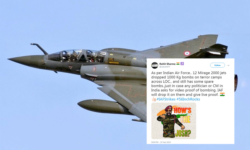 Twitter's Reaction On The IAF Strike
