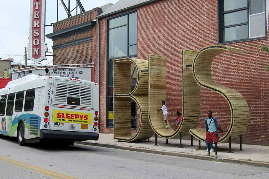 Funny And Unique Bus Stops