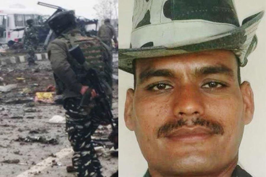 CRPF soldier Rohitash Lamba