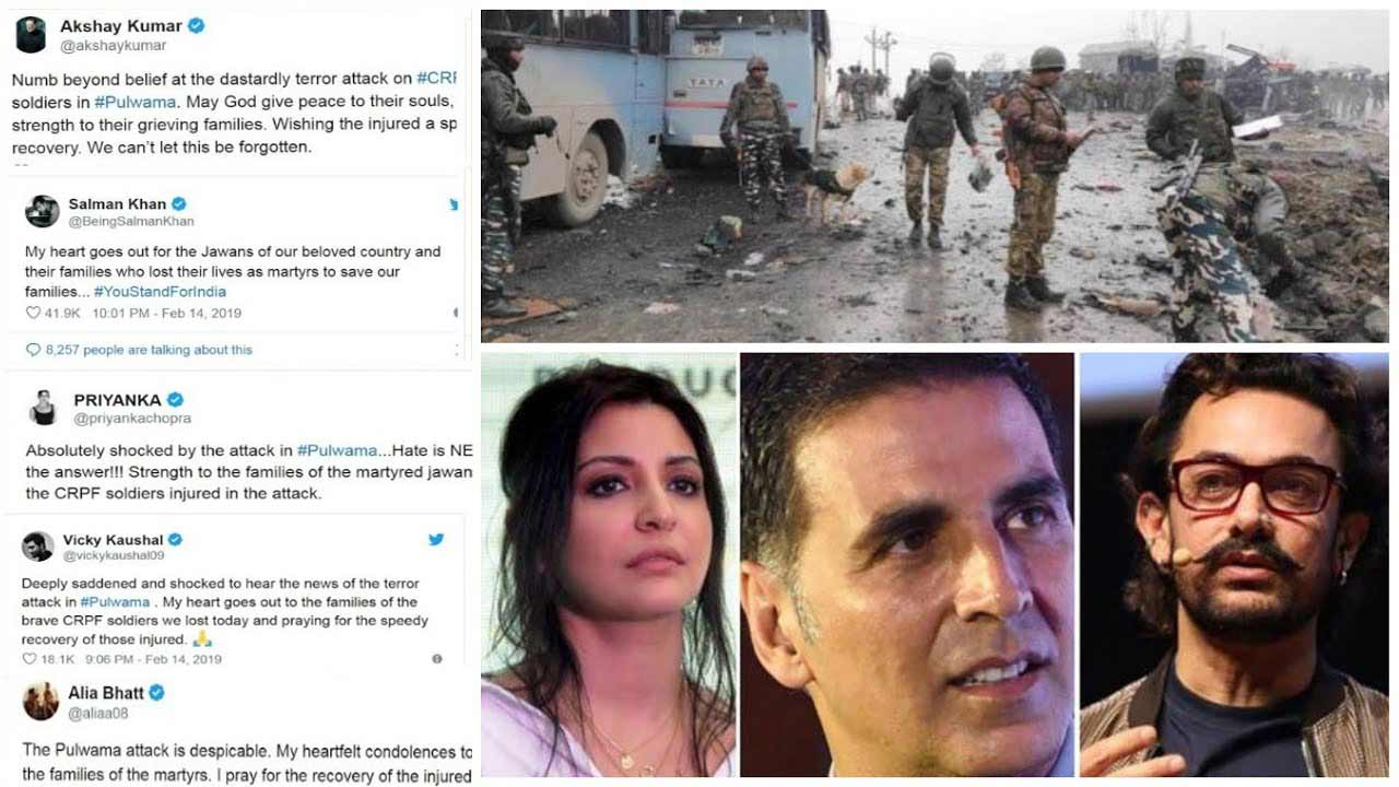 Bollywood Celebrities Share The Condolences