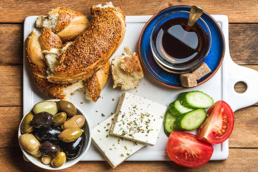 Breakfast in Turkey