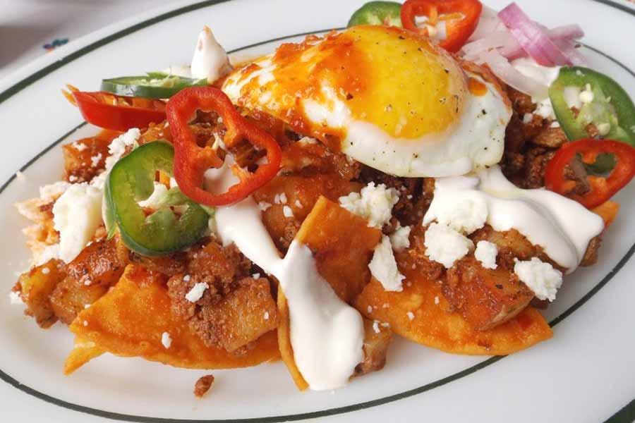 Breakfast in Mexico