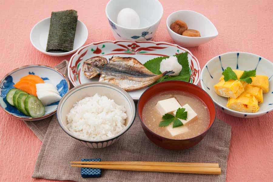 Breakfast in Japan