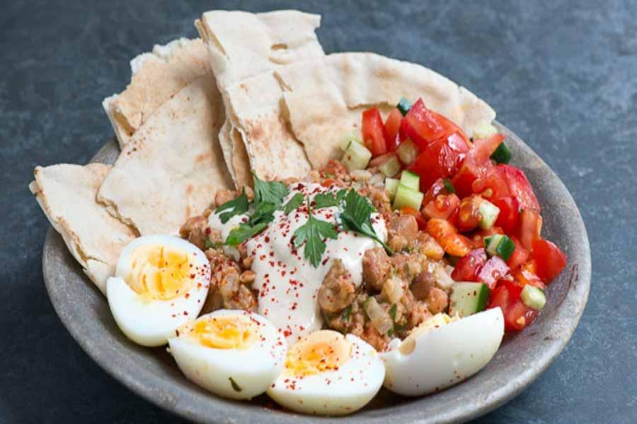 Breakfast in Egypt