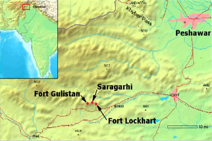 where is Saragarhi