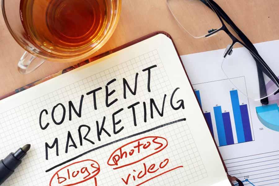 Consider content marketing