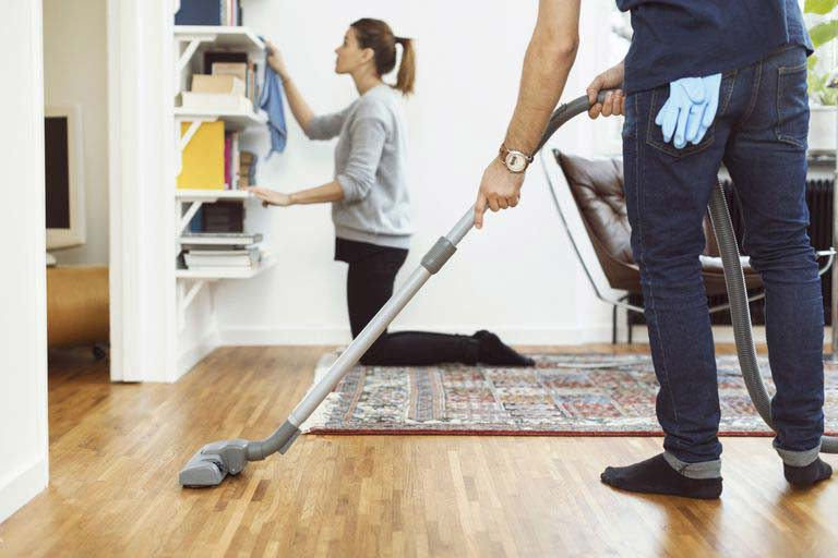 Not delegating your household work