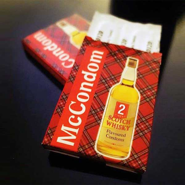 Whisky Flavoured Condom