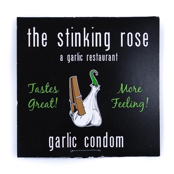 Garlic Flavoured Condom