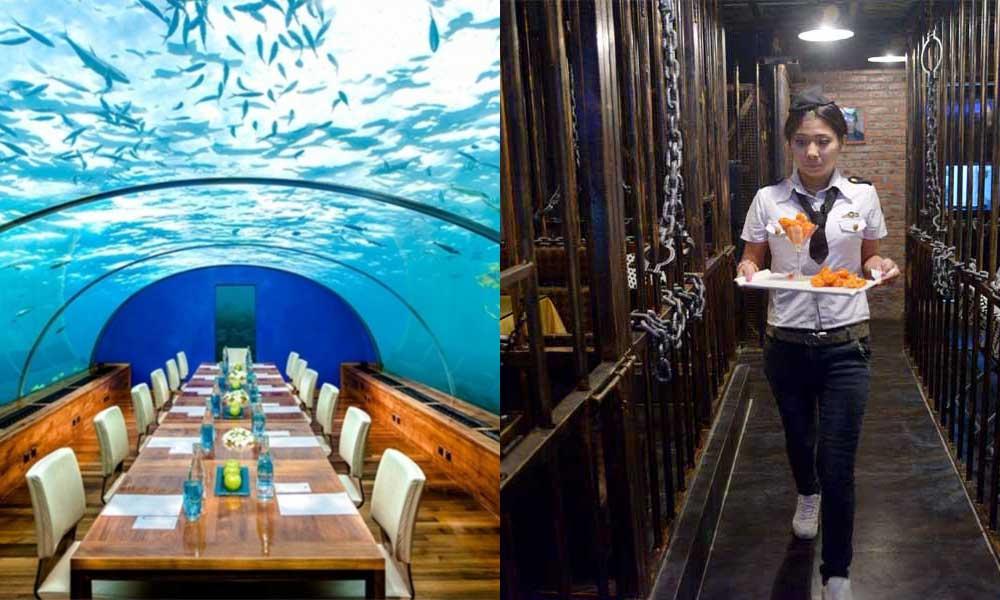 10 Unusual Restaurants Around The World
