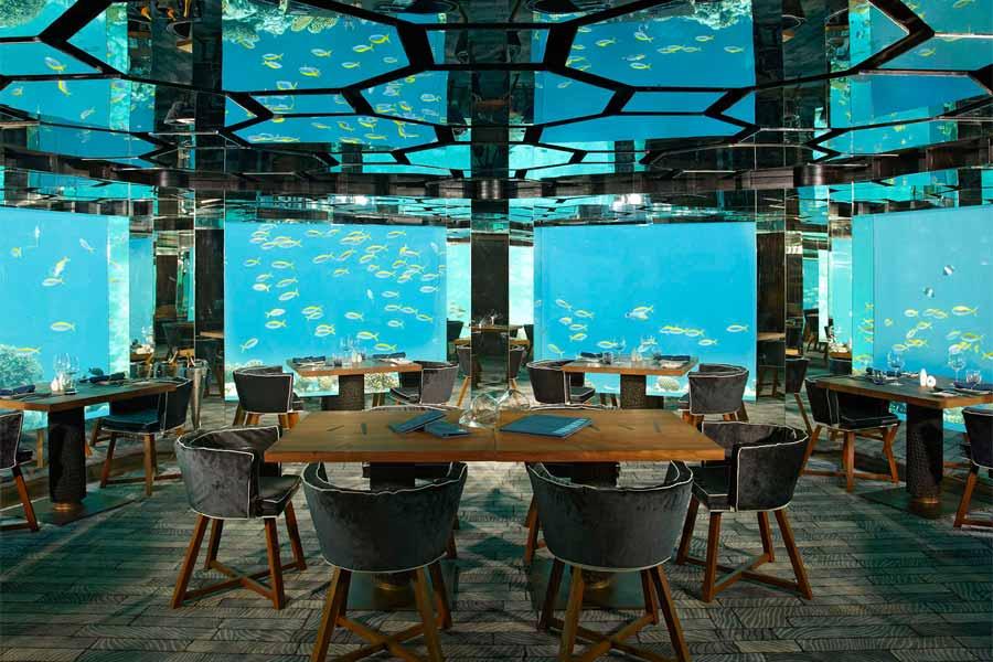 Underwater Restaurant, Maldives