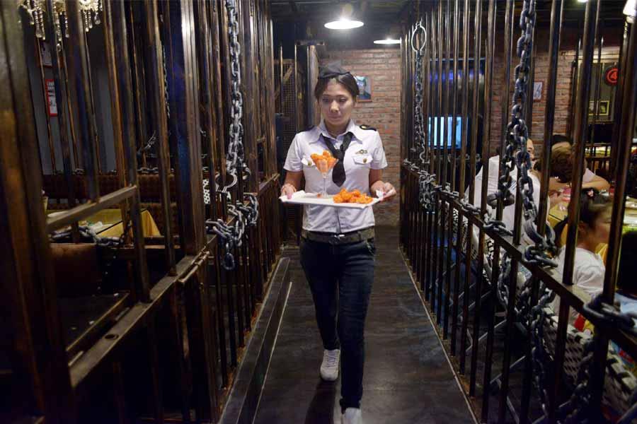 Devil Island Prison Restaurant, China