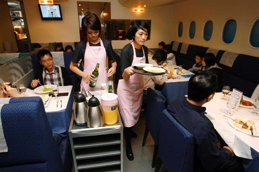 A380 In-Flight Kitchen, Taipei
