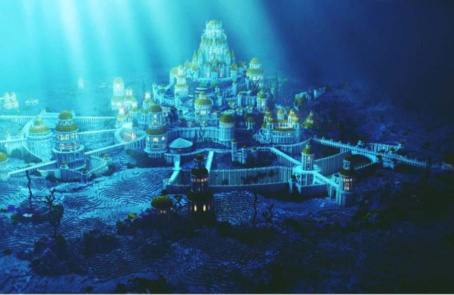 Dwarka, the city underwater