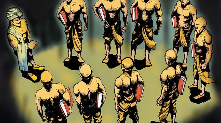 A secret society of Ashoka