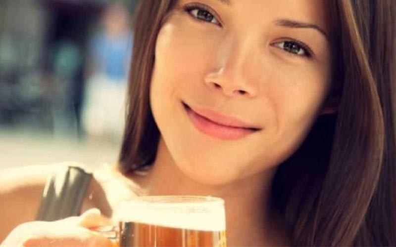 Beer can help you get healthier hair