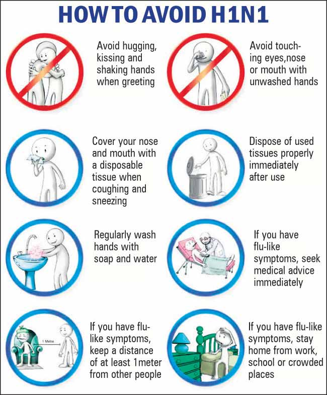 Precautions to protect the kids from Swine flu