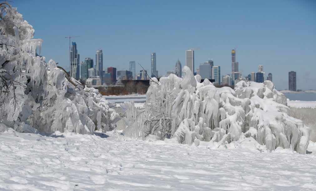 The Temperature Is Freezing In Chicago And Parts Of US Are Colder Than Antarctica