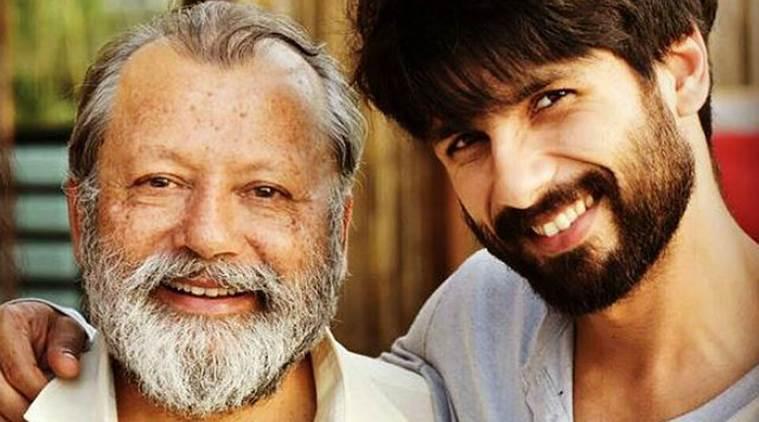 Shahid Kapoor & Pankaj Kapoor
