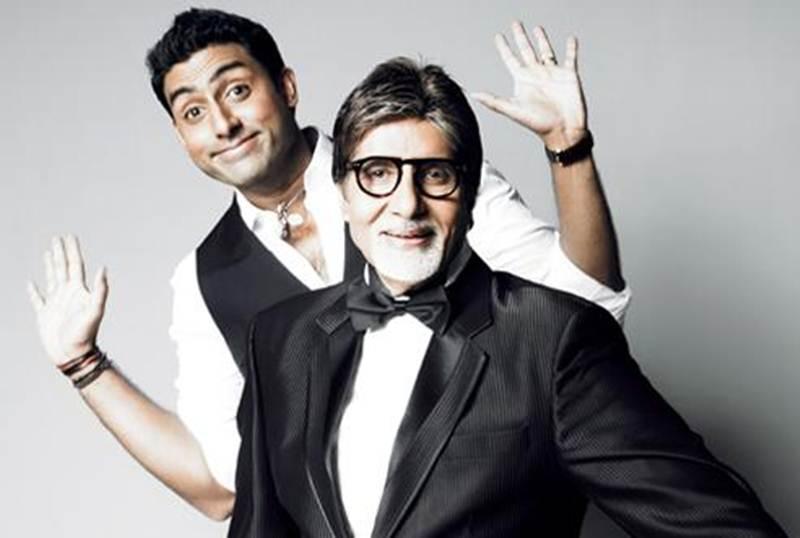 Abhishek Bachchan & Amitabh Bachchan