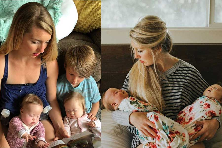 Racheal And Cody's Experience Of Giving Birth To Twin Girls