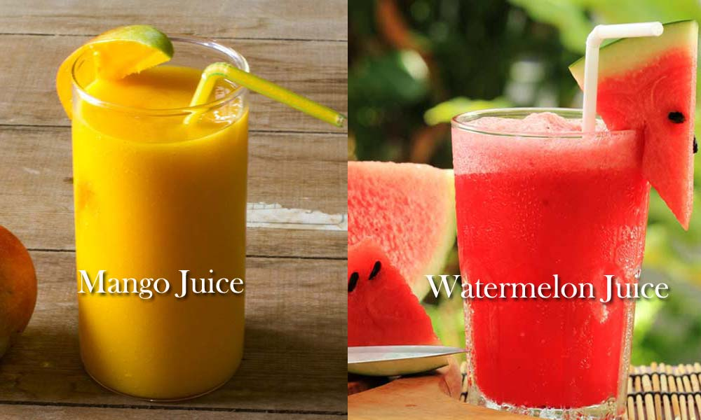 Natural Juices To Beat The Heat