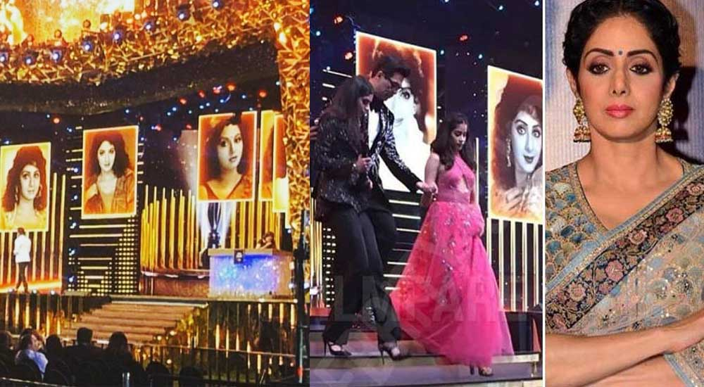 Filmfare Awards paid tribute to 'Sridevi'