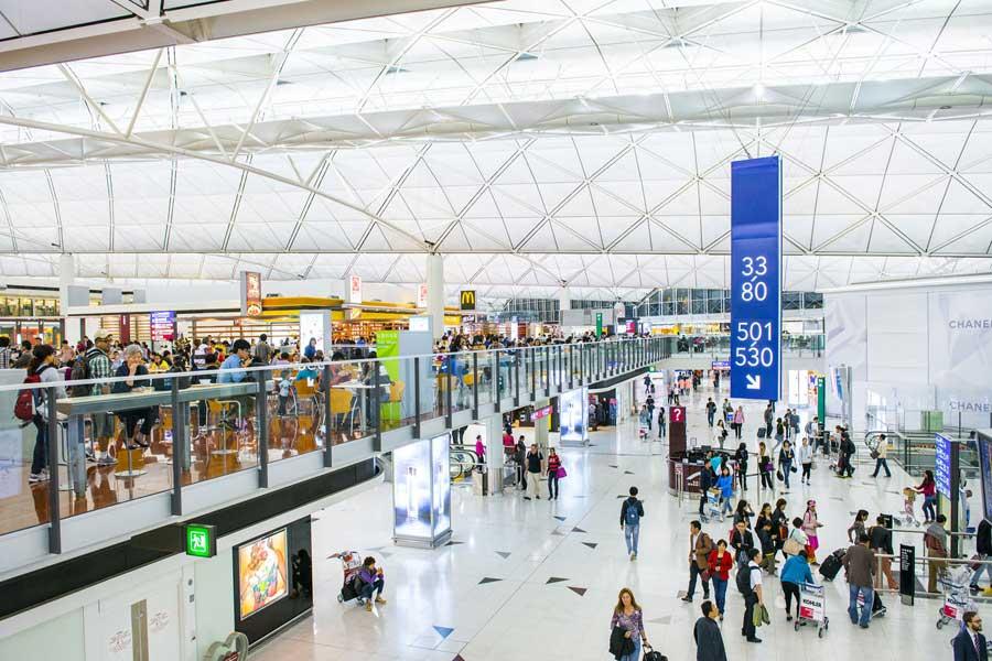 Hong Kong International Airport- Chek Lap Kok, Hong Kong