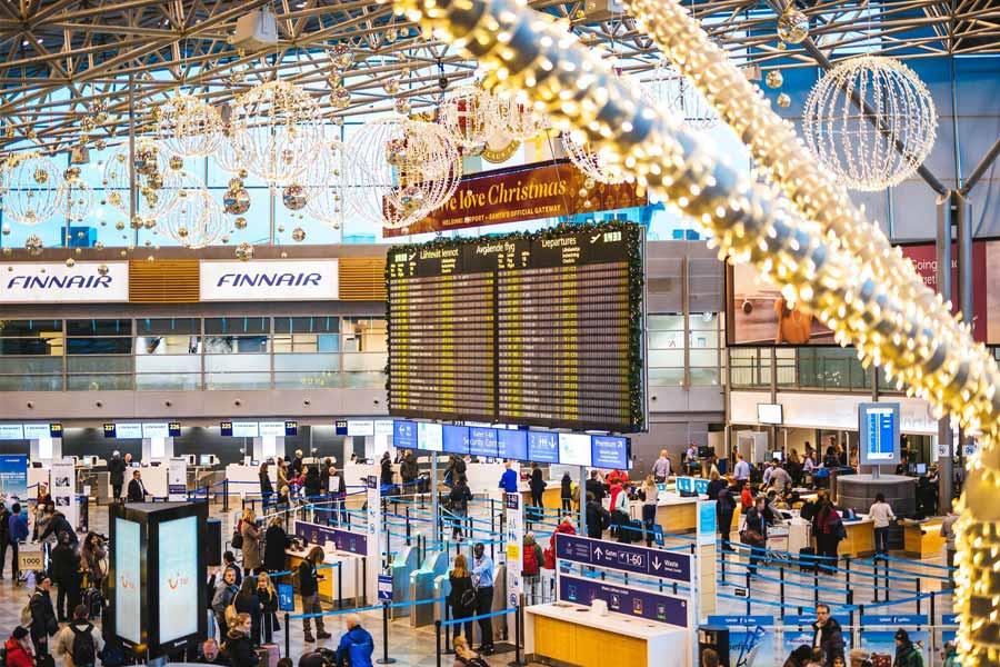 Helsinki Airport- Finland