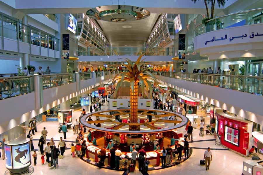 Dubai International Airport- Dubai, UAE