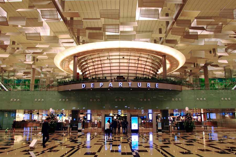 Changi International Airport- Singapore