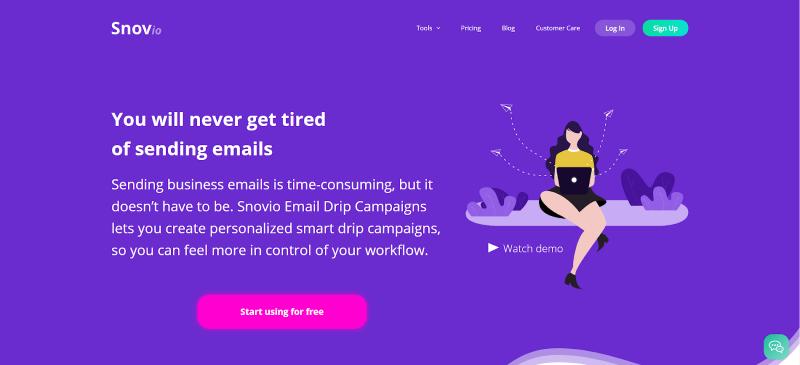 Snov.io Drip Campaigns short review