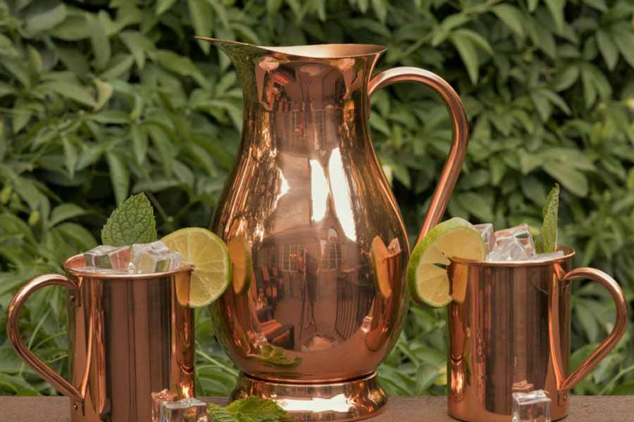 Benefits Of Drinking Water In A Copper Vesse