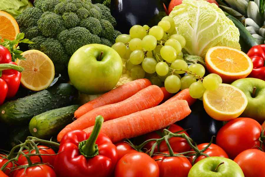 Eat Whole Fruits and Vegetables