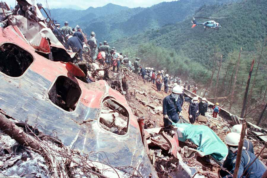 Japan Airlines Flightcrash