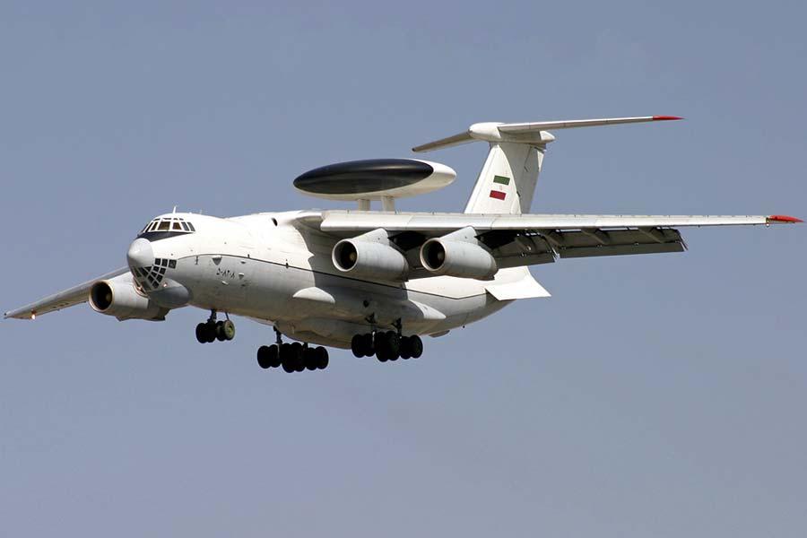 Iranian Air Force Ilyushin II-76 crash