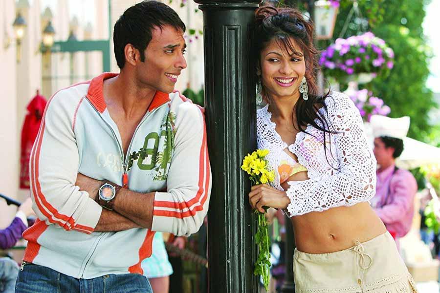 Uday Chopra and Tanisha Mukherjee