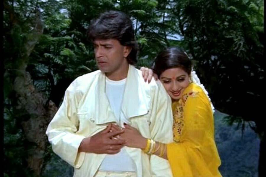 Mithun and Sridevi