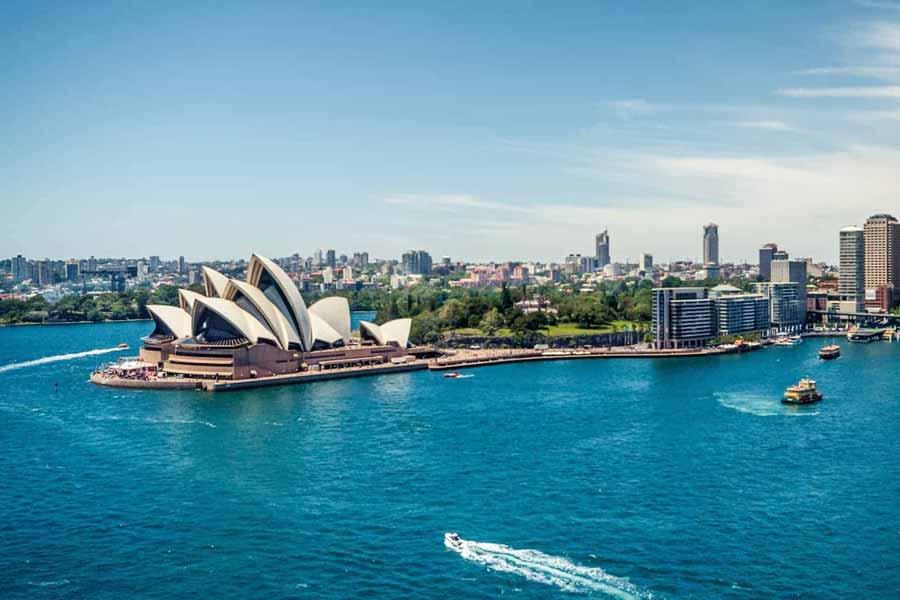New Zealand and Australia