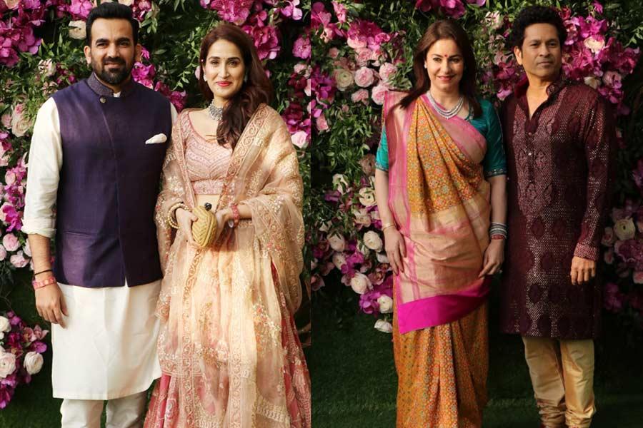 Cricketers At Akash Ambani And Shloka Mehta's Wedding