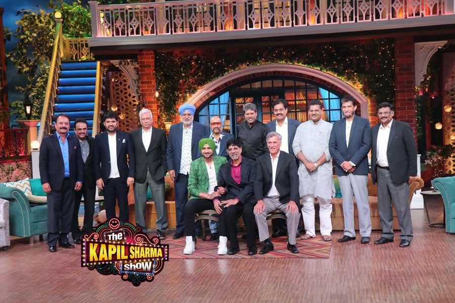 1983 Cricket World Cup Winning Team At The Kapil Sharma Show