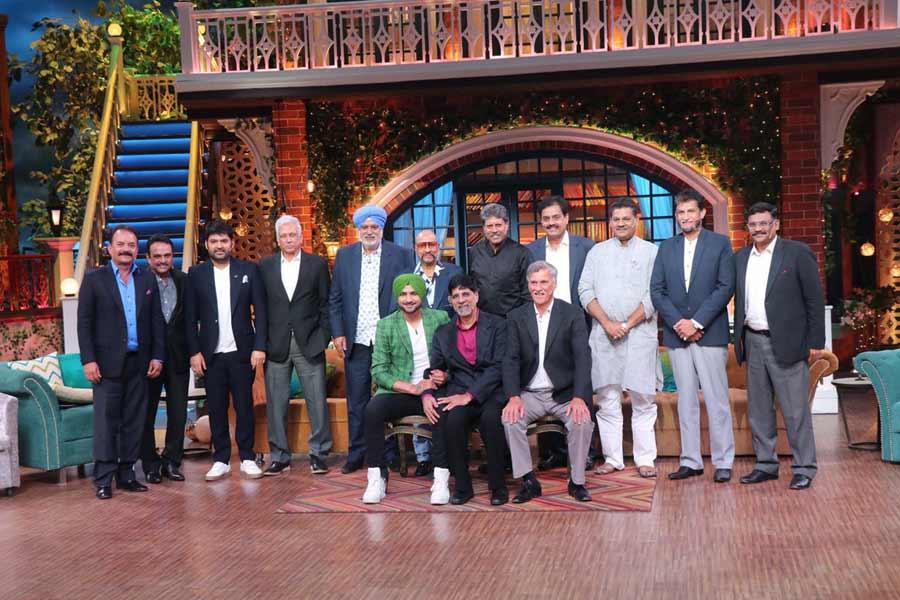 1983 Cricket World Cup Team At The Kapil Sharma Show