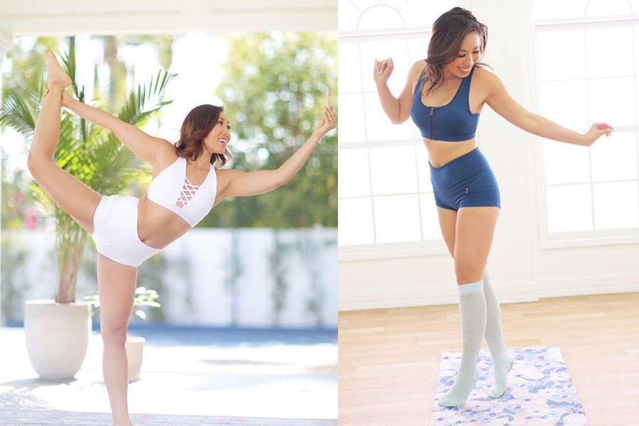 fitness trainer CasseyHo