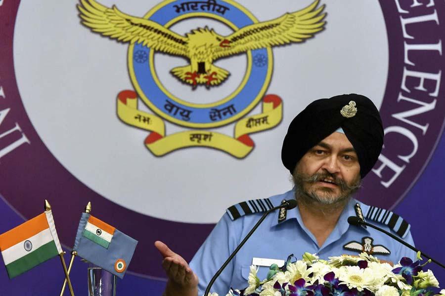 Air Force Chief BS Dhanoa