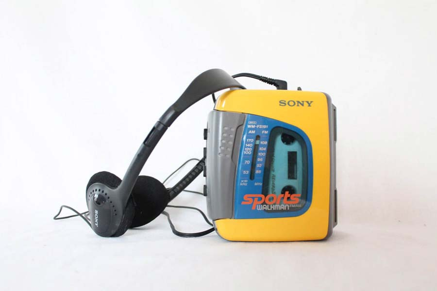 Walkman was another level craze for us