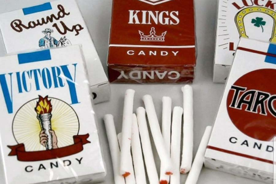 The sweet cigarettes