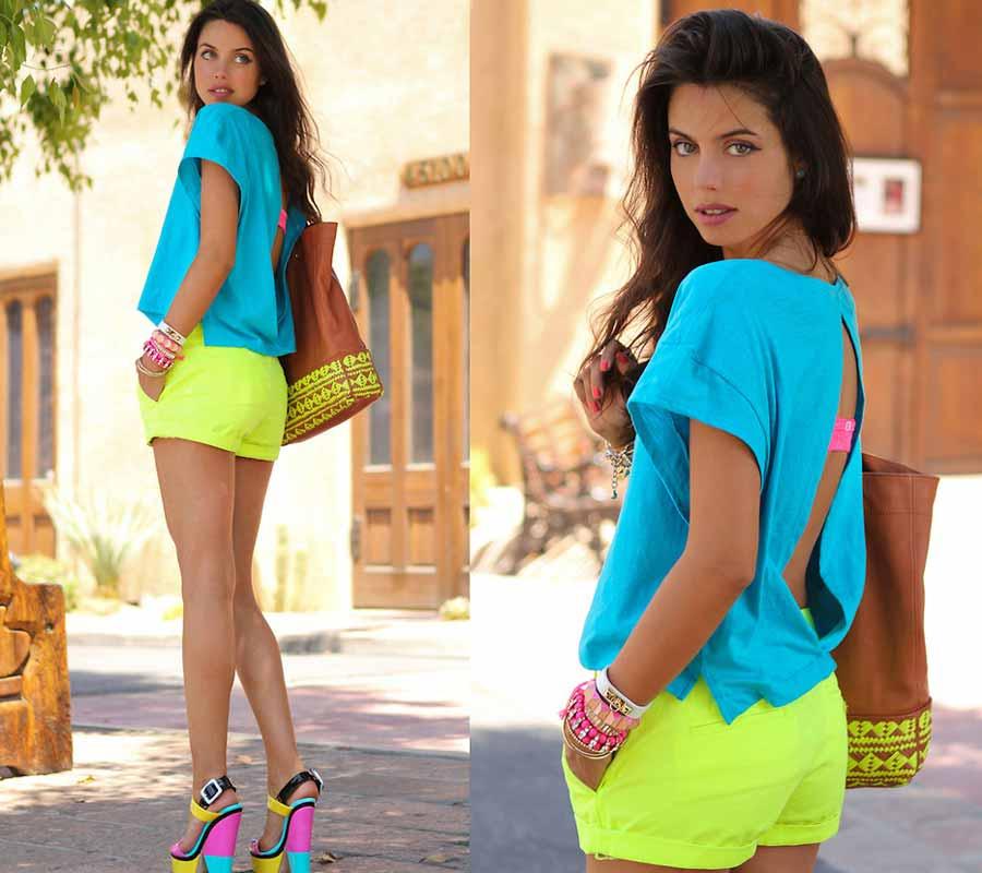 Neon colour trend