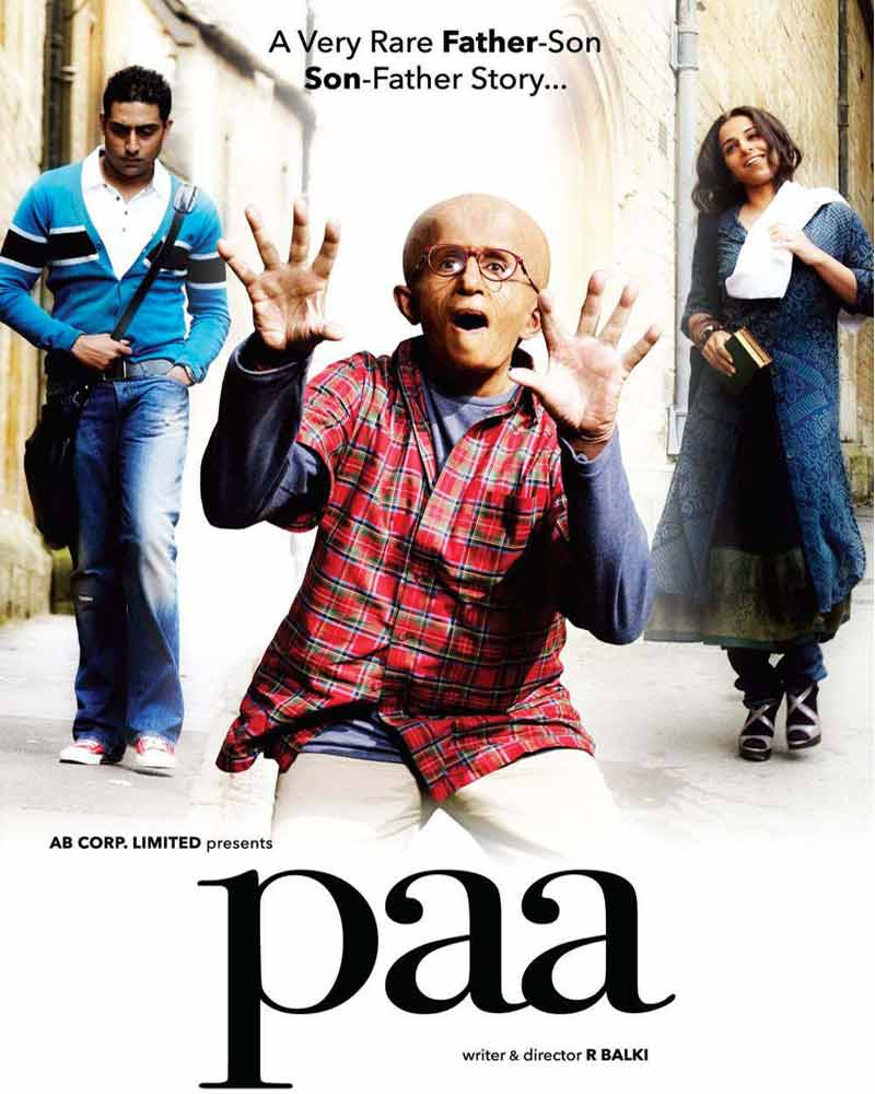 Big B's role as Auro in Paa