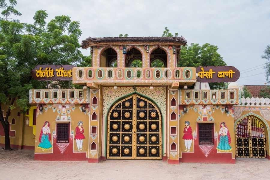 Get a taste of Rajasthani culture at Chokhi Dhani